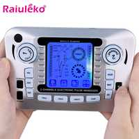 20 Levels Body Massage Electronic Slimming Pulse Massage Muscle Relax Pain Relief Stimulator Tens Acupuncture Therapy Machine