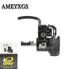 1pc Aluminum Alloy Arrow Rest Compound Bow Black Easy To Adjust When Falling Archery Supplies Outdoor Shooting Accessories
