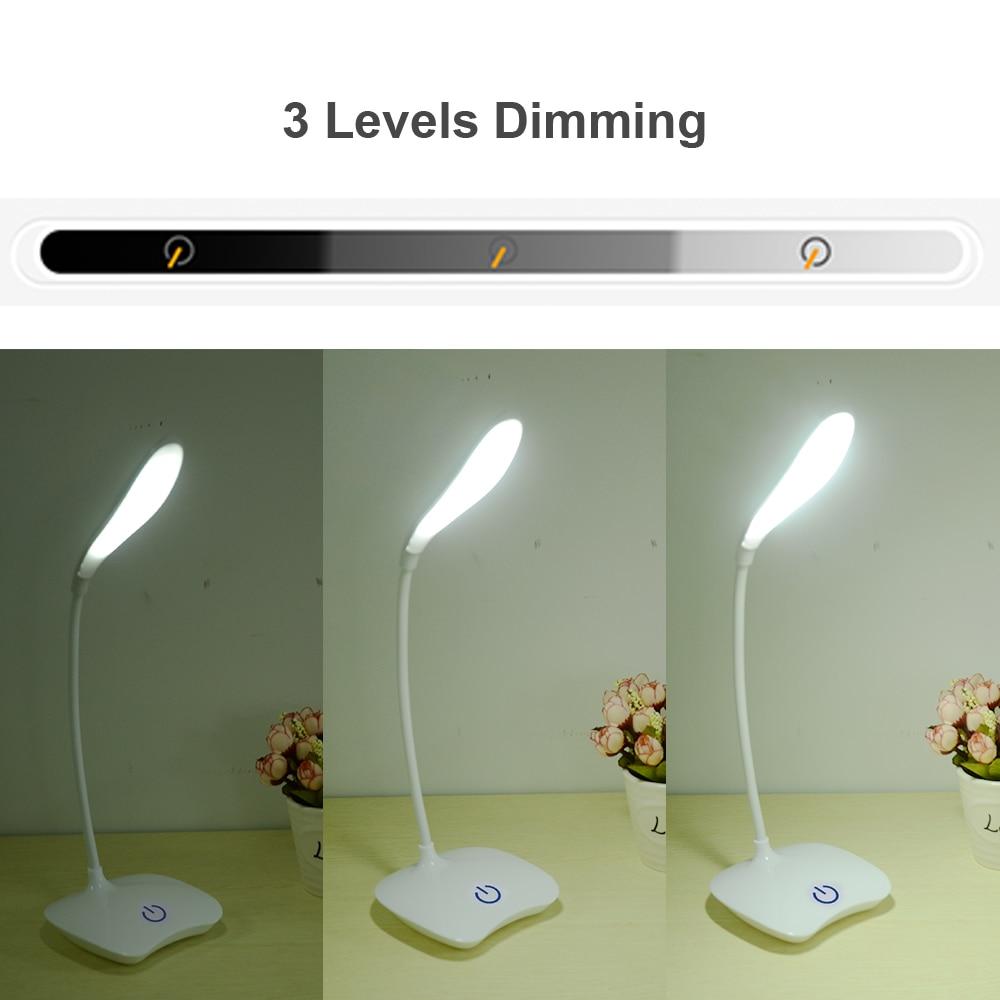 Home Furniture Diy 3 Level Brightnes Led Desktop Lamp Touch Control Table Study Lights Rechargeable Globalgym Parsberg Com