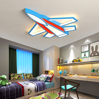 Creative aircraft chandeliers ceiling For Children's room baby Bedroom modern chandelier Home Decoration led chandelier lighting