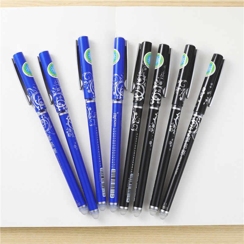 3 adet Aihao Kawaii silinebilir kalem sihirli kalem 0.5mm mürekkep jel kalem kırtasiye Uitwisbare kalem ofis okul Stylo Effacable 04069