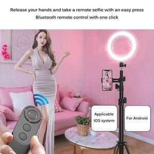 Image 3 - NOVO Sem Fio Bluetooth Controle Remoto Do Obturador Da Câmera Para SmartPhones Fotos Selfies handy Controle Remoto Da Câmera Do Bluetooth