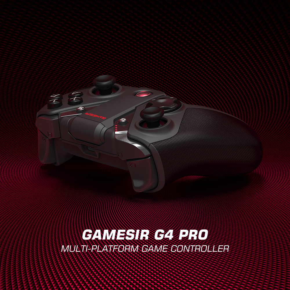 GameSir G4 Pro Bluetooth משחק בקר 2.4GHz אלחוטי Gamepad עבור Nintendo מתג Apple ארקייד וmfi משחק Xbox ענן משחקים