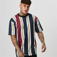 High quality Brand Men muscle T shirt bodybuilding fitness men tops cotton singlets Plus Big size Hip Hop TShirt Short Sleeve