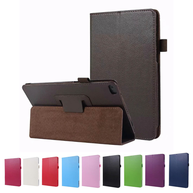 For <font><b>Lenovo</b></font> TAB E8 / TAB 8 (<font><b>TB</b></font>-8304F, <font><b>TB</b></font>-<font><b>8304F1</b></font>) Tablet PU leather Case Fold Folio Stand Cover image