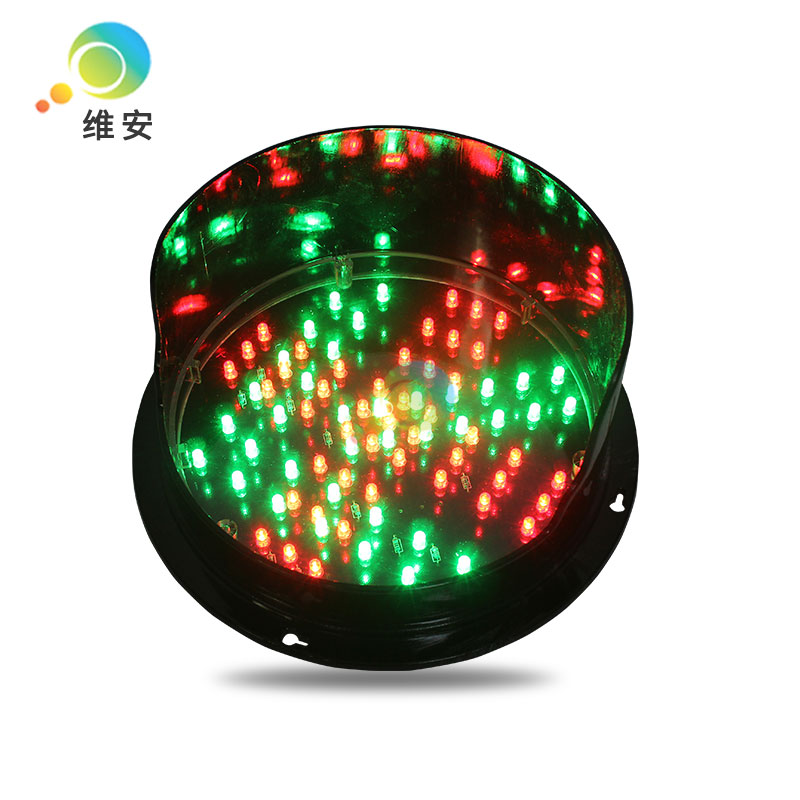 DC12V Wholesale Price Diameter 200mm Red Cross Green Arrow Traffic Light Module Traffic Replacement