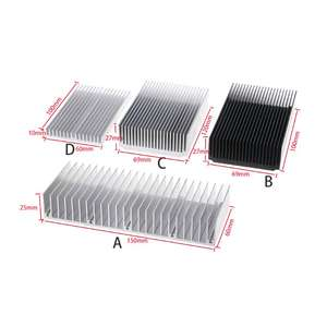 Heatsink Aluminum for High-Power Led-Ic-Chip Cooler Radiator M0XD Extruded Electronic-Cooling-Stripthermal-Block