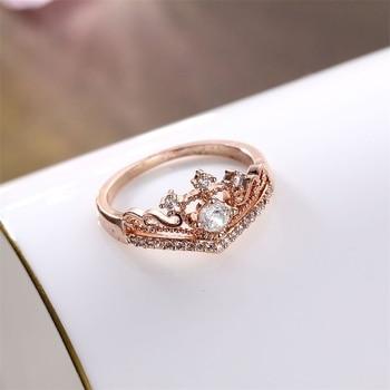 Zircon Crown Ring  1
