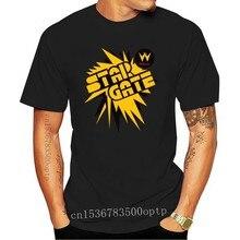 StarGate, Star Gate, Retro, Arcade, Cabinet, Logo, Williams, Pinball, Video Game Cool Casual pride t shirt men Unisex Fashion