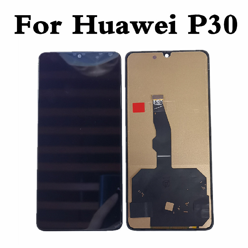 TFT For Huawei <font><b>P30</b></font> <font><b>LCD</b></font> Display For Huawei <font><b>P30</b></font> <font><b>LCD</b></font> Display Touch Screen Digitizer Assembly For Huawei P 30 Screen Replacement image