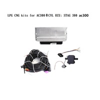 8 cylinder LPG CNG kits for AC300 PC version Universal version Electronic control system ECU