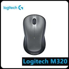 Logitech M320 3 Buttons 2.4GHz Wireless 1000DPI Mouse Notebook Desktop All-in-one Home Office Universal External