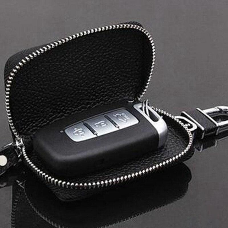 Local Stock Men Women Key Holder Hanger Case Leather Keychains Pouch Bag Car Wallet Key Ring