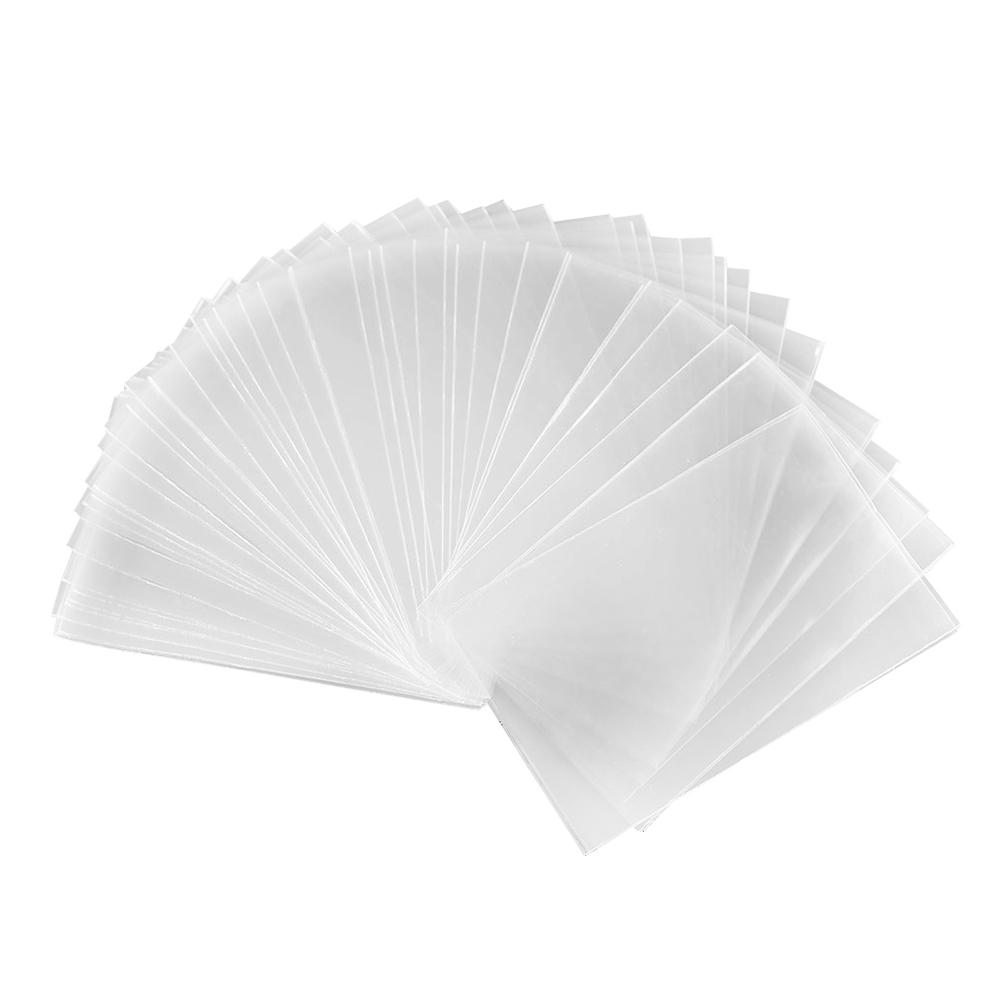 2 Size 100pcs 65x90mm/61x87mm Card Sleeves Desk Protector For Magical Gathering Board Game New