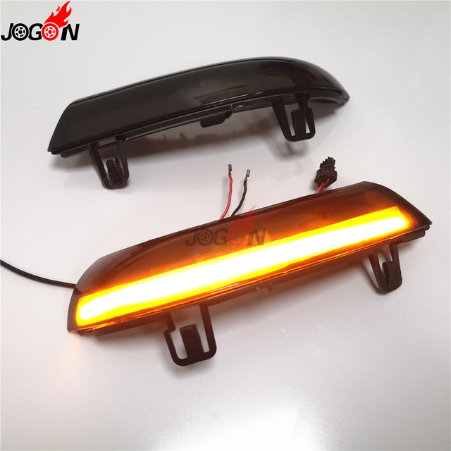 Dynamic Turn Signal LED Rearview Mirror Indicator Blinker Repeater Light For Volkswagen VW GOLF 5 Jetta MK5 Passat B5.5 B6 EOS