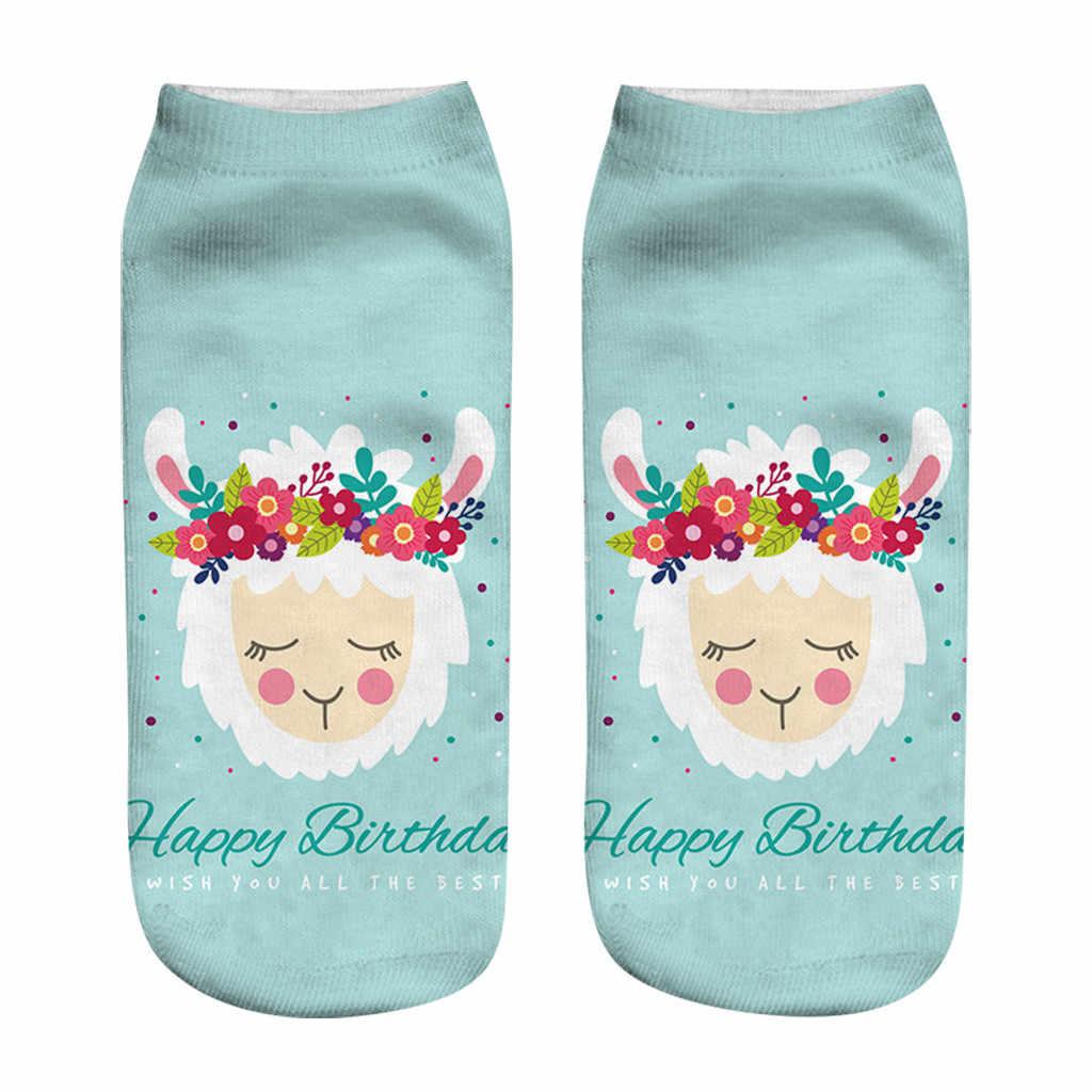 น่ารักรูปแบบการ์ตูนสั้นถุงเท้าผู้หญิงพิมพ์ผ้าฝ้ายบางฤดูร้อนถุงเท้า Kawaii ตลกข้อเท้าถุงเท้า Low Cut Unisex ร้านขายชุดชั้นใน