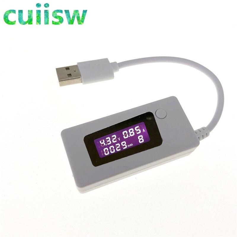 ЖК-дисплей Micro USB зарядное устройство емкость аккумулятора Тестер Напряжения измеритель тока детектор + резистор нагрузки 2A/1A с переключате...