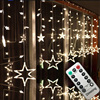 Ac110v أو 220 فولت عطلة الإضاءة led الجنية أضواء ستار الستار سلسلة luminarias الطوق الديكور زفاف عيد الميلاد ضوء 3 متر