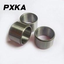 Frete grátis 2 pçs bucha rolamento anel interno manga de aço diâmetro interno 12 diâmetro externo 15 16 18 altura 10 14 15 16 20 38 40