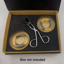2pairs Mit Pinzette Magnetische Wimpern Set Sicher Ergonomische 3D Make-Up Werkzeug Geschenk Langlebige Weichen Synthetische Faser Verlängerung