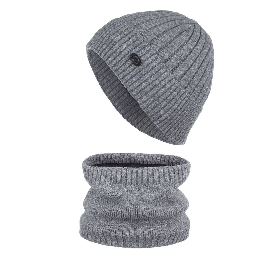SAGACE Unisex Winter Ribbed Knitted Cuffed Short  Solid Color Skullcap Baggy Retro Ski Fisherman Docker Hat Slouchy