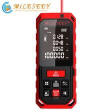 Miseey 50 メートル 70 メートル 100 メートル 120 メートル充電式レーザー距離計距離計レーザー角度を測定ツールdiastimeter赤
