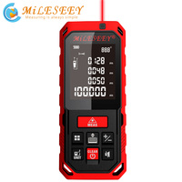 Miseey 50M 70M 100M 120M 충전식 레이저 거리 측정기 새로운 레이저 거리 측정기 레이저 측정 각도 도구 Diastimeter Red