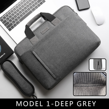 Laptop Bag case 13.3 14 15.6 17.3 Inch Waterproof Notebook Bag for Macbook Air Pro 13 15 Computer Shoulder Handbag Briefcase Bag 12