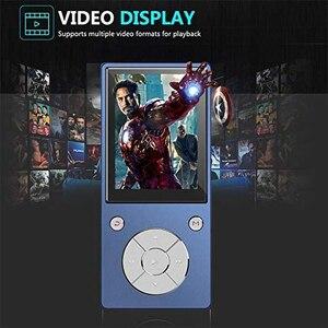 Image 5 - Bluetooth4.2 MP3 מוסיקה נגן מובנה רמקול עם 2.4 אינץ TFT מסך Lossless קול נגן, תומך SD כרטיס עד 128GB
