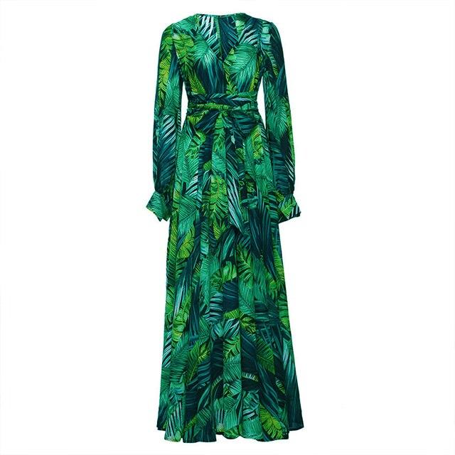 long floral print boho maxi dress 6