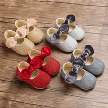 MUQGEW Autumn 2019 Hot Sale Kids Shoes Newborn Infant Toddlers Baby Girls Boys Bowknot Cute Soft Sole Princess Shoes schoenen(China)