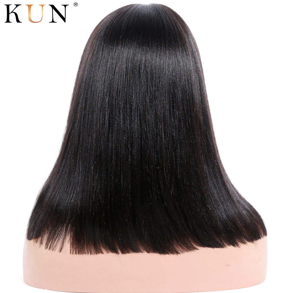 Парики из коротких человеческих волос 360 парик из натуральных волос яки прямые парики из человеческих волос 360x6 парик из кружева с детскими волосами