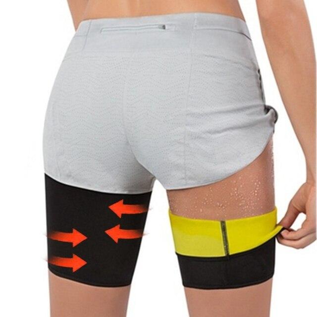 Women Arm Thigh Leg Trimmer Sleeves Compression Belt Body Shaper Sauna Slimmer Sweat Band Shaping Fat Burning Leg Warmers Corset 1
