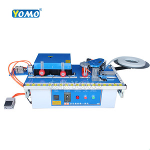Image 2 - New upgraded MY70 wood edge banding machine with edge trimmer trimming cutting woodworking edge bander 45kg