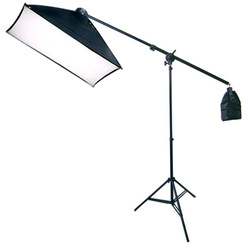 Photography  Studio Lighting Kit Softbox  with  Bulb Socket & Boom Arm Stand Hair Light  photography accessories backdrop stand