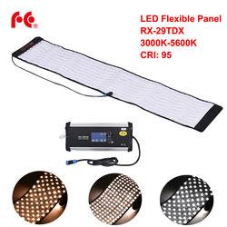 FalconEyes RX-29TDX 100W Roll Flexible LED Mat Fill-in Light Panel Bi-Color 3000K-5600K CRI95 for Photo Video Studio Photograph