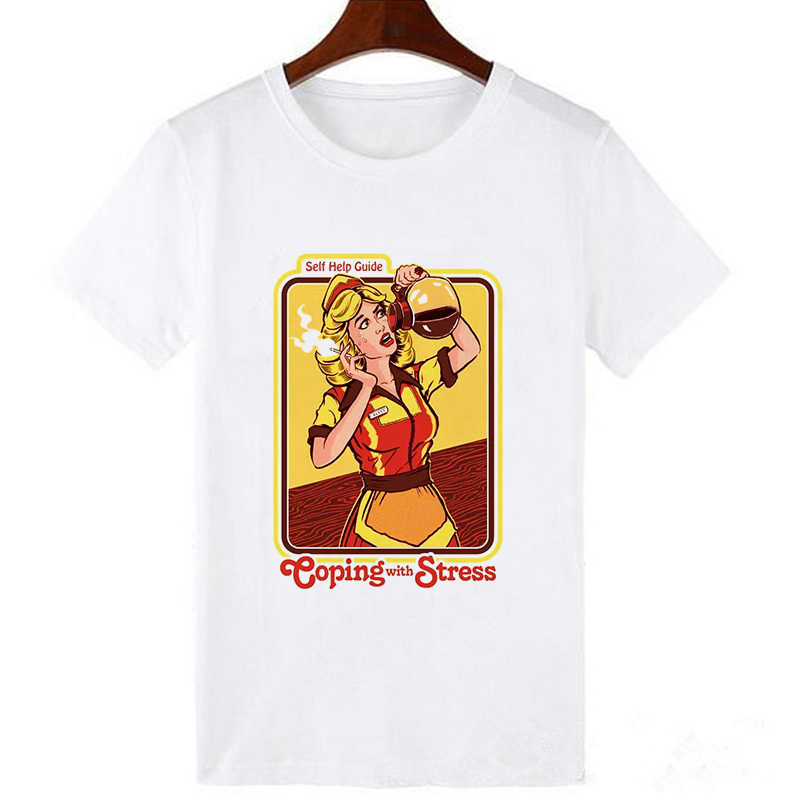 Showtly 男性サタン Tシャツ悪魔死怖い悪ヒップホップ Satanism 死神悪 Tシャツサイケデリックホラー Tシャツ男性 /人間サンドバッグ