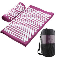 Massager Cushion Massage Yoga Mat Acupressure Relieve Stress Back Body Pain Spike Mat Acupuncture Massage Yoga Mat(Hong Kong,China)