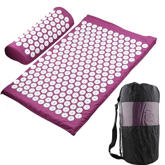 Massager-Cushion-Massage-Yoga-Mat-Acupressure-Relieve-Stress-Back-Body-Pain-Spike-Mat-Acupuncture-Mat
