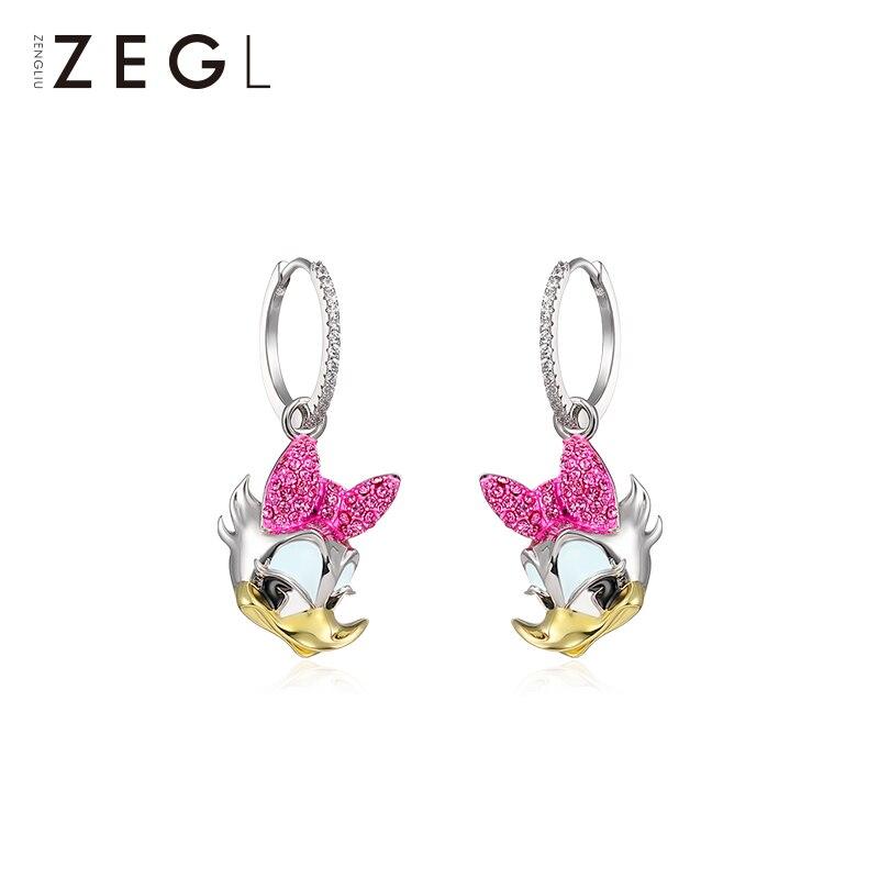 ZEGL créateur année du rat boucles d'oreilles femme tempérament personnalité boucles d'oreilles noël boucles d'oreilles cadeau de nouvel an