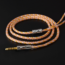 NICEHCK C16-2 16 Core Copper Silver Mixed Cable 3.5/2.5/4.4mm Plug MMCX/2Pin/QDC/NX7 Connector For KZCCA TFZ QDC NX7/DB3