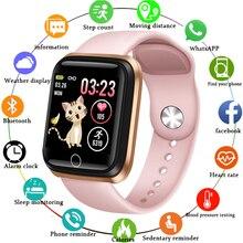 LIGE 2019 New Smart Watch Women Men Blood Pressure Heart Rate Monitor Sport