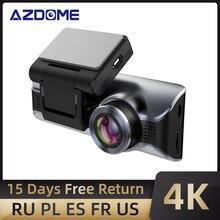 AZDOME M550 Dash Cam UHD 3840 × 2160P True 4K Car Camera DVR 3.19 ''visione notturna dello schermo, Wi-Fi, Super condensatori, Monitor di parcheggio