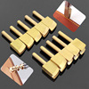 Leather Electric Brass Solder Soldering Iron Tip To Burn The Edge  Leather Craft Press Edge Sealing Machine Line Pyrography Tool