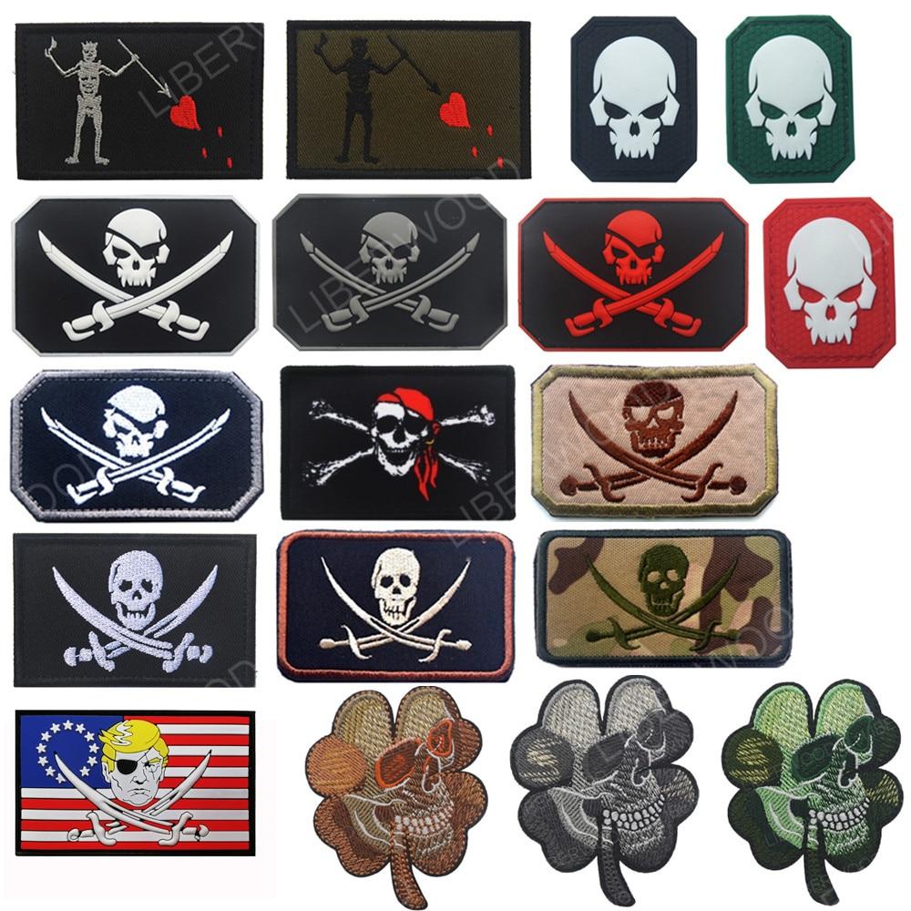 """Us navy seal equipe blackbeard pirata edward ensinar remendo da bandeira 3x2 """"gancho apoio remendo distintivo"""