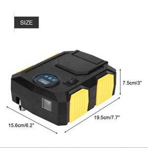 Image 2 - Reifen Inflator DC 12 Volt Auto Tragbaren Luft Kompressor Pumpe 150 PSI Auto Inflator für Auto Motorräder Fahrräder