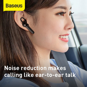 Image 2 - Baseus Magnetic Charging Wireless Bluetooth Earphone Single Handsfree with Microphone Business Bluetooth Headset for Car Driving