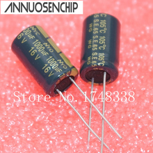 Capacitor 16v 1000uf Electrolytic 50pcs 10--16mm High-Frequency