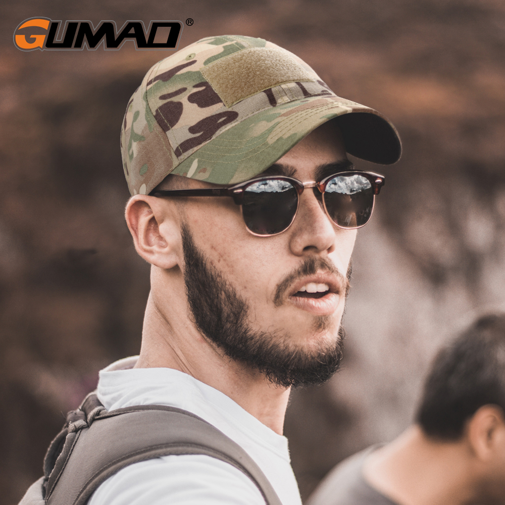 Outdoor Multicam Camouflage Adjustable Cap Mesh Tactical Military Army Airsoft Fishing Hunting Hiking Basketball Snapback Hat 1