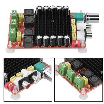 TDA7498 Class-D High power Digital amplifier board 2x 100w amplifiers amplificador audio DC 12V 24V фото